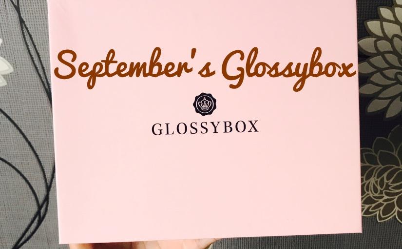 September's GlossyboxUK 🍂