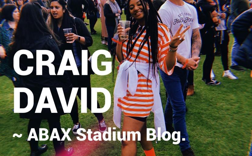 Craig David x ABAX Stadium 2019 📍Peterborough