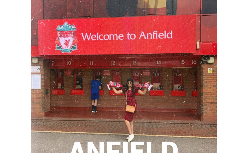 Anfield Stadium Tour📍Liverpool